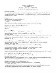 Entry Level Biologist Resume Examples Internationallawjournaloflondon