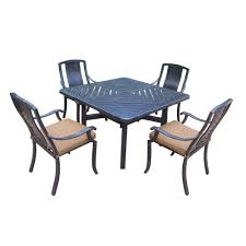 Aluminum Outdoor Dining Table Martha Stewart Living Patio Dining Furniture Patio Furniture