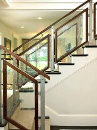 staircase railing ideas glass stair railing tempered staircase contemporary with wood railings ideas 9 outdoor stair staircase railing ideas