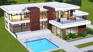 sims 4 modern house plans luxury the sims 3 house floor plans luxamcc