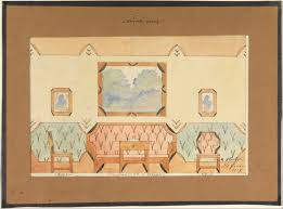 Design Art Wikipedia File Vlastislav Hofman Elevation Design For A Sitting Room