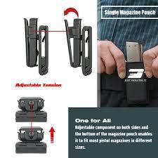 Multiple Magazine Holder Cool Universal Handgun Magazine Holder Fully Adjustable Just Holster It
