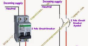 double pole wiring diagram Double Pole Switch Diagram how to wire a double pole circuit breaker double pole switch wiring diagram