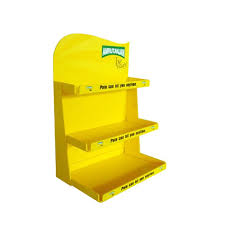 Retail Product Display Stands Three Layer Cardboard Retail Display Stand Promotion Display Stand 71