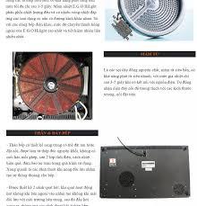 Bếp đôi điện từ hồng ngoại Junger ID-16 - Công suất 4800W - mặt kính Schott  Ceran Bảo hành 2 năm chính hãng MADE IN THAILAND