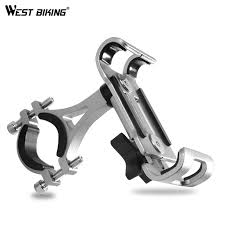 "WEST BIKING <b>Aluminium Alloy Bike Phone</b> Holder 4.7-6.5"" Cell ..."
