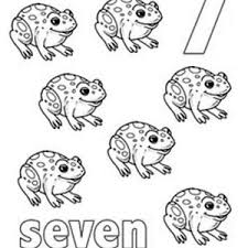 Small Picture Kids Learn Number 7 Coloring Page Kids Learn Number 7 Coloring