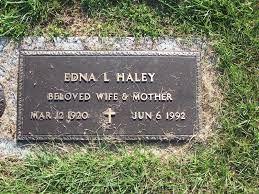Edna Luella Martin Haley (1920-1992) - Find A Grave Memorial
