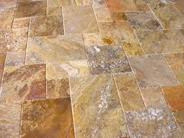 Travertine Kitchen Floor Tiles Versailles Pattern Chiesled Edge Travertine Palatial Stone And