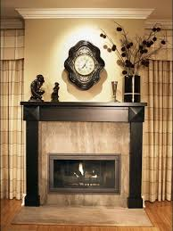 Marvelous Image Of Fireplace Decoration With Various Mantel Shelf Over  Fireplace Design : Astounding Picture Of
