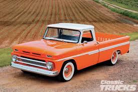 Pickup chevy c10 pickup truck : 1966 Chevy C10 - Orange Twist - Hot Rod Network