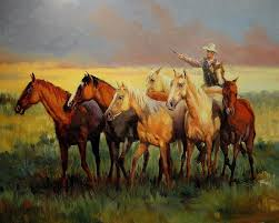 oil paintings of 7 western american indians 69 art for by artists