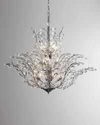 upside down 18 light crystal chandelier