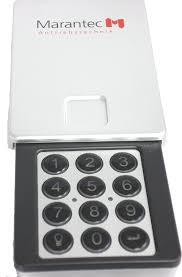 garage door keyless entryM13631 Marantec Garage Door Opener Wireless Keyless Entry