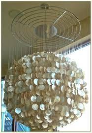 round capiz shell chandelier large capiz shell chandelier iglab large capiz shell chandelier capiz shell lighting round capiz shell chandelier