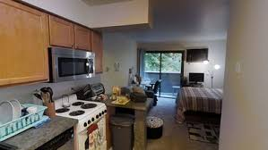 Studio, 1 BA - 325 SF - Treehouse West Apartments