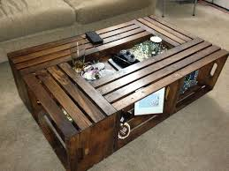 black crate coffee table - Google Search More