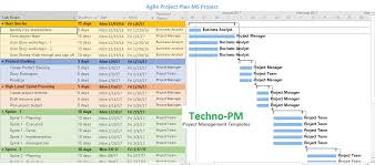 Project Planning Template Free Agile Project Planning 6 Project Plan Templates Project