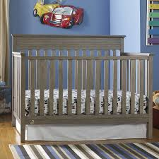 fisher newbury convertible crib in vintage grey