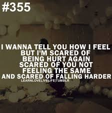 Quotes About Being Afraid To Lose Someone You Love Daily