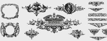 無料イラスト素材クラシックで綺麗オシャレな飾り枠のベクター画像まとめ
