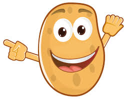 potatoes clipart. Wonderful Potatoes Anthropomorphic Potato On Potatoes Clipart I