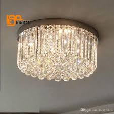 2019 new design modern led chandelier ceiling crystal lamp wideth 60cm re cristal living room lighting from daisy8814 400 0 dhgate com