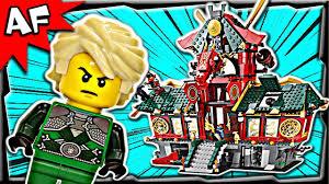Lego Ninjago BATTLE for NINJAGO CITY 70728 Stop Motion Set Review - YouTube