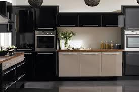 modern black kitchen cabinets. Kitchen Modern Design Kabinet Black Cabinets