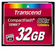 Thẻ nhớ Transcend CF800X 32GB