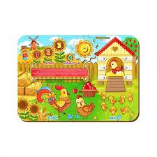 Деревянная игрушка <b>Woodland Бизиборд Один</b>-<b>много</b> ...