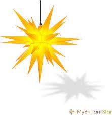 Hd A7 Herrnhut Stars Yellow V1502079932 Stern Außen