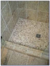 mosaic shower floor tile. Shower Mosaic Tiles Gray Floor Tile K