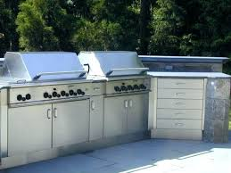 master forge outdoor kitchen modular refrigerator stainless steel cabinets for 5 bur