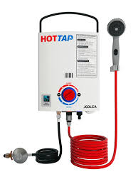 Battery Operated Water Heater Hottap Outing Lpg Gas Portable Hot Water Heater Pump Camper