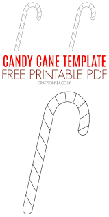 These are seasonal and deeply polarizing candy items of questionable. Candy Cane Template Free Printable Crafts On Sea
