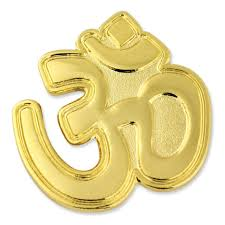 Gious,om is name of three gods of hindu in om symbol marigold flower decorate on street floor of find the perfect hindu om symbol stock photo. Aum Om Hindu Yoga Pin Pinmart