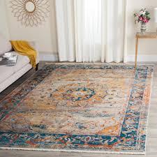 safavieh vintage persian blue multi 5 ft x 8 ft area rug