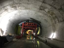 Brenner Base Tunnel: Site visit by Amberg Engineering