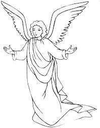 Small Picture Angels Coloring Pages Print Coloring For Kids Angels Coloring