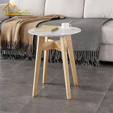 china marble top side table