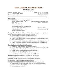 Social Worker Sample Resumes Resume Examples Gpa Resume Templates Design For Job Seeker