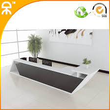 office counter desk. 3.9meter (12.7ft)2014 New Design Fashionable White Wooden Reception Table Counters With Office Counter Desk R