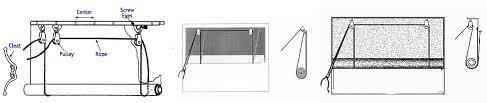 garage door screen systemGarage Door Screens Pulley SystemGarage Door Screens