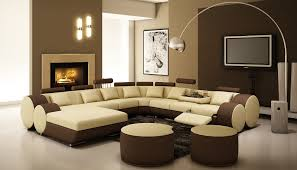 Awesome Modern Unique Sectional Sofas With Yellow And Brown Color