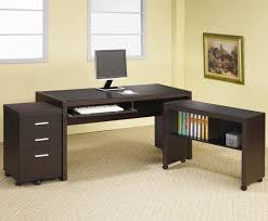 furniture l shaped black solid amazing home office design thecitymagazineco