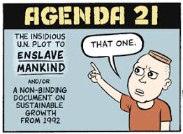 Agenda 21 – Your descendants will live where WE say…