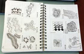Official Zentangle Patterns Best Inspiration Design