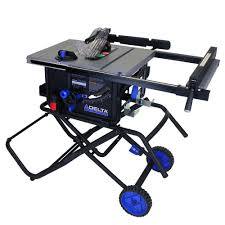 15 amp portable table saw with folding stand