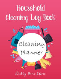 Weekly House Cleaning Chart Household Cleaning Planner Weekly Cleaning Planner And